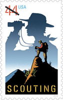 USPS 100 Years of Scouting Commemorative Stamp